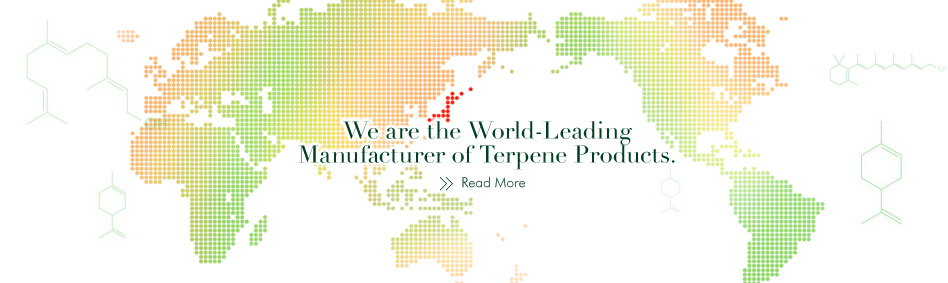 We are the World-Leading Manufacturer of Terpene Products.